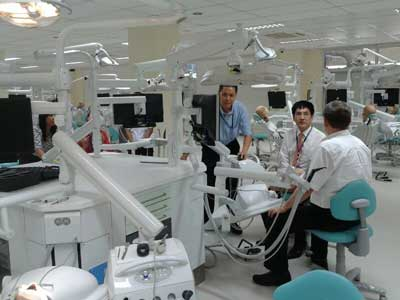 Grand opening of Dental Simulation Center, Mahidol Faculty of Dentistry, Thailand